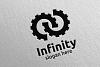 Infinity loop logo Design 11 example image 4