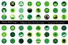 Saint Patricks Day One Inch Circles example image 1