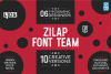 Zilap Font Team example image 1