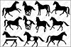 Horses SVG files for Silhouette Cameo and Cricut. example image 1