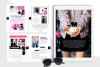 Hot Pink Fashion Canva template Ebook example image 8