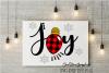 Joy svg,plaid joy svg,buffalo plaid svg,christmas svgs, joy example image 1