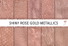 Shiny Rose Gold Metallics example image 1