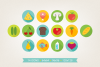 Round Food Icons example image 3