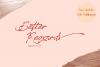 Better Regards Signature Font example image 1