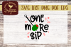 One More Sip With Olive Martini SVG EPS DXF Comm example image 1