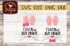 Cuter Than Any Bunny SVG - Easter cut file example image 1