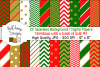 20 seamless Digital Papers - Christmas with Gold - HC006 example image 1
