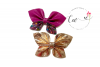 New 2 in 1 Butterfly Pinch Bow Digital Template example image 3