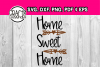 Welcome home sign - Home sweet home - DIY decor - entry sign example image 1
