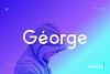 George Sans - 8 Fonts Geometric Typeface example image 1