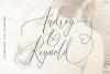 Audrey & Reynold - Luxury Script example image 1