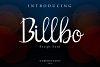 Billbo Script Font example image 1