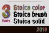 Stoica - Bitmat SVG Color Font example image 2