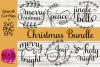Script Christmas SVG Bundle example image 1