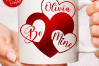 Valentines Day Hearts SVG DXF Cut Files Bundle example image 5
