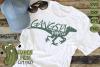 Gangsta Raptor Dinosaur svg example image 1