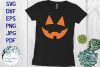 Halloween Pumpkin Faces | Jack o lantern | SVG Cut File example image 2