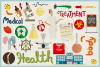 Health Care & Medical Vector Clipart & Seamless Patterns example image 3