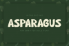 Asparagus Handwritten Font example image 1