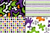 Halloween abstract seamless digital papers / patterns example image 3
