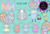 Hand Drawn Easter Clipart example image 1