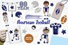 American Football graphics and illustrations example image 1