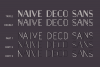 Naive Deco Sans Family example image 2
