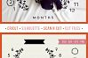 Baby MONTHLY MILESTONE BLANKET - SVG design for crafters example image 5