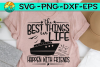 The Best Things In Life Happen With Friends -SVG PNG EPS DXF example image 1