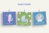 Magic Unicorns Illustration Set example image 4