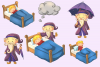 Sandman Fairy Tale Clip Art Collection example image 2