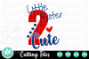 Little Mister 2 Cute - A Second Birthday SVG Cut File example image 2
