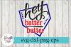 Hey Batter Batter Baseball Mom SVG Cutting Files example image 1