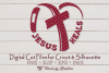 Jesus Heals, Heart aches, Band aid svg, Easter, Cross SVG example image 1