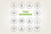 Circle Tree Icons example image 1
