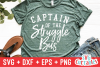 Captain Of The Struggle Bus   Funny   SVG Cut File example image 1