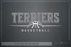 Terrier, Basketball, Sport, Team, Logo, PRINT, CUT, DESIGN example image 5