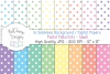 16 seamless Digital Papers - Pastel Polka Dots Small - HC009 example image 1