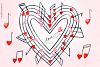 Love melody. Watercolor clipart example image 4