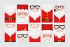 Santa Claus tags and cards example image 6