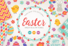 Easter Wreaths and Patterns example image 1