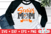 Senior Mom Basketball | svg Cut File example image 1