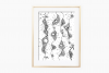 Abstract Floral Art, A1, SVG example image 2
