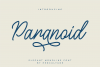 Paranoid - Elegant Monoline Font example image 10