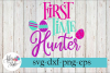 First Time Hunter Easter SVG Cutting Files example image 1