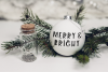 Decorated - a jolly christmas font example image 4