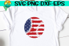 Baseball - Flag - Grunge - Distressed - SVG - DXF - EPS -PNG example image 1