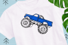 Monster Truck svg example image 1