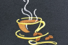 Coffee set - machine embroidery designs. 2 designs, 6 sizes example image 4